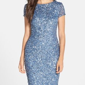 Beaded Sequins Dress